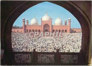 Moderne Karte Eid Prayer at Badshahi Mosque Lahore architecturally unique its red sandstone and white