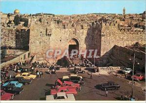 Moderne Karte Jerusalem La Porte de Damas