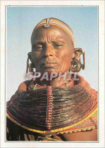 Moderne Karte Kenya Femme Samburu