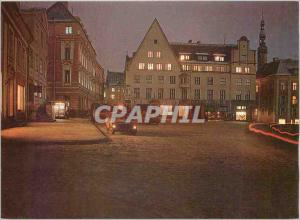 Moderne Karte German Town Hall Square at night