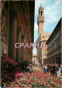 Moderne Karte Firenze Citta d'Incanto Le Printemps Florentin autour du Palais des Offices