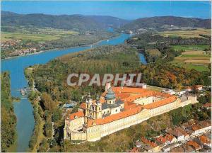 Moderne Karte Melk an der Donau Wachau Benediktinerstift im Barockstil