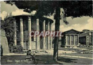 Moderne Karte Roma Tempio di Vesta