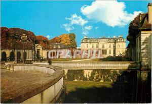 Moderne Karte Chateau de Champs sur Marne Seine et Marne Le Chateau et la Cour d'Honneur