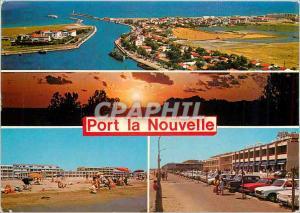 Moderne Karte Port la Nouvelle