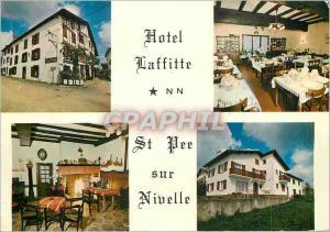 Moderne Karte Hotel Laffitte St Pee sur Nivelle