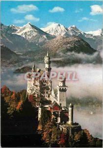 Moderne Karte Chateau Royal de Neuschwanstein