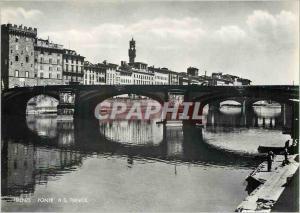 Moderne Karte Firenze Ponte Santa Trinita