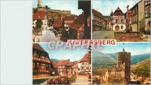 Moderne Karte Kaysersberg Alsace Cette tres ancienne cite vinicole a su conserver le caractere typique de son