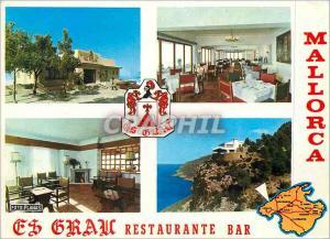 Moderne Karte Mallorca Es Grau Restaurante Bar