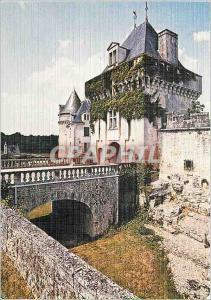 Moderne Karte St Porchaire Chateau de la Roche Courbon