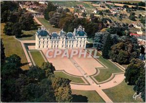 Moderne Karte Les Chateaux de la Loire Chateau de Cheverny Loir et Cher