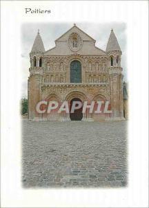 Moderne Karte Poitiers Vienne L'Eglise Notre Dame la Grande