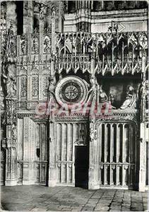 Moderne Karte Chartres Eure et Loir La Cathedrale Notre Dame Cloture du Choeur