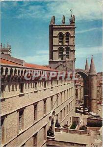 Moderne Karte Montpellier Herault La Faculte de Medecine ancienne collegiale fondee par le Pape Urbain V