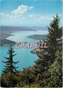 Moderne Karte Le Lac d'Annecy Terre de Beaute