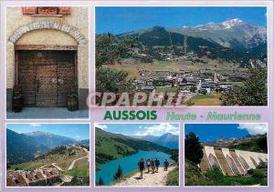 Moderne Karte Savoie France Haute Maurienne Aussois