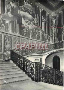 Moderne Karte Hampton Court Palace Middlesex The Kings Staircase decorated by Verrio
