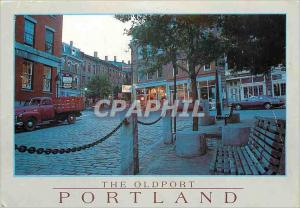 Moderne Karte The Oldport Portland