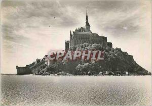 Moderne Karte Abbaye du Mont Saint Michel Vue generale Face Nord
