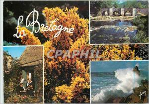 Moderne Karte Couleurs et Lumiere de France La Bretagne Pittoresque Paysage Breton