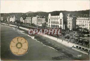 Moderne Karte La Cote d'Azur Nice La Promenade des Anglais