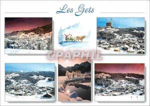 Moderne Karte Les Gets Hte Savoie
