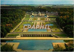 Moderne Karte Chateau de Vaux le Vicomte