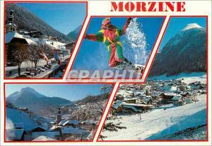 Moderne Karte Morzine Hte Savoie