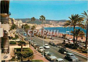 Moderne Karte Nice Capitale Mondiale du Tourisme La Promenade des Anglais