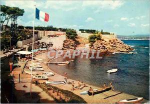 Moderne Karte Reflets de Provence La Ciotat (Bouches du Rhone) La Calanque du Mugel la Plage