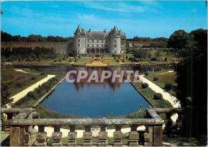 Moderne Karte Chateaux et sites de Charentes Chateau de la Roche Courbon