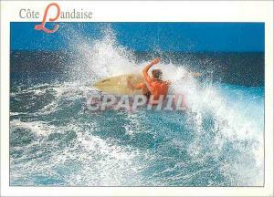 Moderne Karte La Cote Landaise Surf