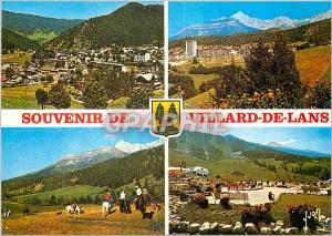 Moderne Karte Villard de Lans (Isere) Vue generale le balcon de Villard