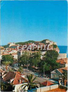Moderne Karte Dubrovnik View of pile