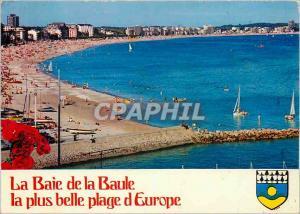 Moderne Karte La Baie de la Baule la plus belle plage d'Europe