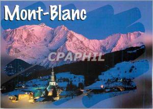 Moderne Karte AU Pays du Mont blanc haute Sav le village de combloux