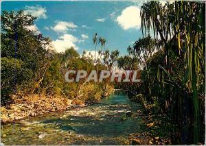 Moderne Karte Riviere de la Baraoua Cote Ouest Nouvelle Caledonie