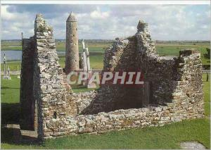 Moderne Karte Clonnacnois Co Offaly Temple Kieran