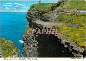 Moderne Karte Cliffs of oher near Lahinch Co Clare Ireland