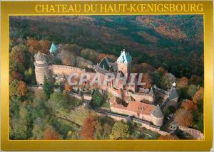Moderne Karte Le Chateau du Haut Koenigsbourg (alt 755 ) Images de France (Alsace