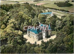 Moderne Karte Nezel (Yvelines) Le chateau de la Falaise