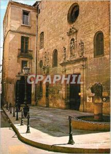 Moderne Karte Montpellier (Herault) L'ancienne Eglise des Augustins (Quartier Jacques Coeur)