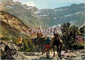 Moderne Karte Nos Belles Pyrenees Gavarnie (H P) Depart pour le Cirque