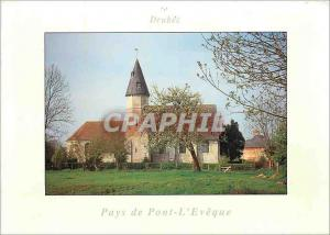 Moderne Karte Drubec Pays de Pont L'Eveque