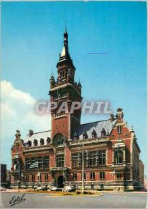 Moderne Karte Dunkerque (Nord) L'Hotel de ville