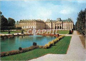 Moderne Karte Luneville (Meurthe et Moselle) Le chateau et les jardins