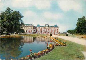 Moderne Karte Luneville (Meurthe et Moselle) les versailles Lorrain Le Chateau vu des Bosquets (XVIIIe s)