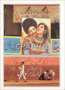 Moderne Karte Pakistan Karachi Affiche de cinema