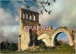 Moderne Karte Les Ruines de l'Ancienne eglise de Saint Geniez o Merle